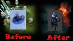 Эволюция героя Drow Ranger Dota 2