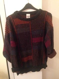 Vintage 90s Grunge Chunky Knit Oversize Jumper Urban Outfitters £62.00