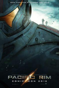 """""""Pacific Rim"""" Comic-Con 2012 poster"""