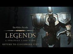 The Elder Scrolls: Legends – Return to Clockwork City Official Trailer Official Trailer, Elder Scrolls, Card Games, Batman, Legends, Game Movie, City, Cards, Youtube