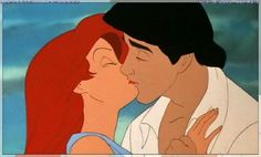 The Little Mermaid...OK...it's a cartoon...but romantic...awww....