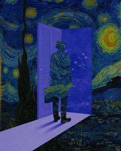 Starry Night reimagined | Vincent van Gogh