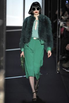 Diane von Furstenberg Fall 2011 Ready-to-Wear Fashion Show - Ranya Mordanova