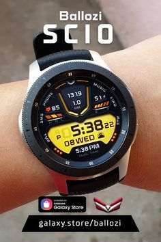 Digital design watch face compatible with Galaxy Watch, Galaxy Watch 2, Galaxy Watch 3, Galaxy Watch Active 1 and 2, Gear S3 and Sport Watch 2, Smart Watch, Men's Watches, Watches For Men, Digital Watch Face, Android Phone Wallpaper, Watch Faces, Ipad Pro, Android Apps