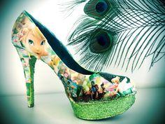 DIY Tinkerbell shoe