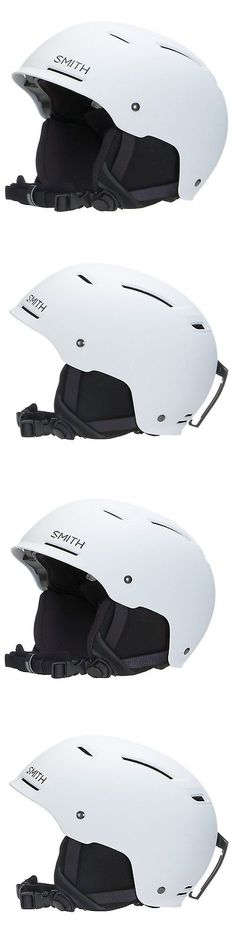 be1ab6afc49a6 Protective Gear 36260  Smith Optics Pivot Adult Ski Snowmobile Helmet -  Matte Charcoal Matte White