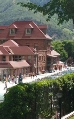 Glenwood Hot Springs Lodge & Pool   Travel   Vacation Ideas   Road Trip   Places to Visit   Glenwood Springs   CO   Resort   Swimming Pool   Hot Spring   Lodge   Boutique Hotel