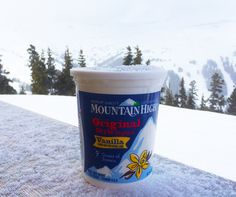 Fresh powder and fresh cultured dairy. A match made in heaven.