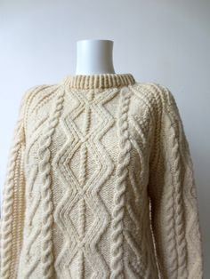 fisherman sweater wool. - Google Search