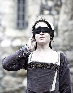 "The execution of Anne Boleyn (Claire Foy) in ""Wolf Hall""."