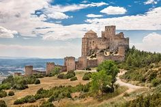 Castillo de Loarre. (Huesca). Aragón. Spain.