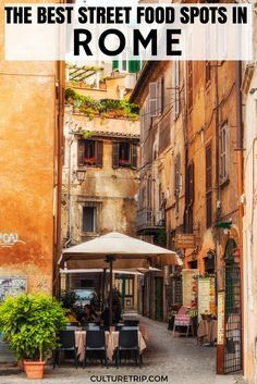The Best Street Food Spots in Rome, Italy. |Pinterest: @theculturetrip