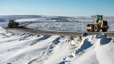 The unpaved Inuvik\u002DTuktoyaktuk Highway is a game\u002Dchanger for isolated residents in Canada\u0027s Northwest Territories who previously traveled on ice roads.