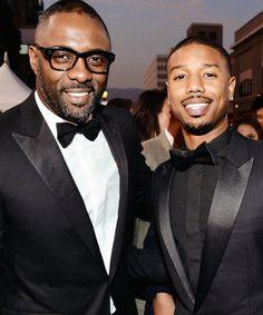 Idris Elba & Michael B Jordan