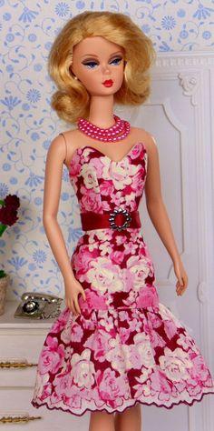 Merlot Roses for Poppy Parker & Silkstone Barbie by HankieChic