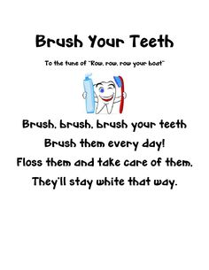 7 steps to great dental health week