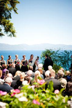 Rustic Chic on Lake Tahoe – Luxe Mountain Weddings Wedding Fun, Wedding Story, Wedding Bells, Elegant Wedding, Perfect Wedding, Wedding Ceremony, Destination Wedding, Places To Get Married, Got Married