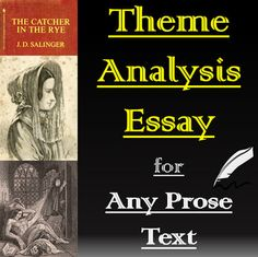 Argumentative Essay Topics For College This Package Contains Essay Materials For A Theme Analysis On Any Text  Included Are The Following  Detailed Instructions With Rubric  Sample  Paragraphs  Never Cry Wolf Essay also Sample Essay Introduction Michael Enos Enosmichael On Pinterest How To Write A Conclusion Essay