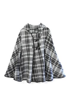 Plaid Cape by Do everything in Love on @HauteLook