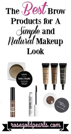 Love a nice simple and natural everyday makeup look? Heres a list of the top ten makeup products youll need to create the perfect simple and natural everyday makeup look, featuring some of the best eyebrow products! best eyebrow products for beginners Mascara, Eyeliner, Natural Everyday Makeup, Best Natural Makeup, Drugstore Makeup, Eye Makeup, Concealer, Kosmetik Box, Makeup Tutorial Foundation