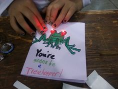 Beginner Electronics Project: The TapeTricity Card. Repinned from Delaware State Libraries PInterest Board on Maker Space Activities: http://pinterest.com/destatelibrary/maker-spaces-activities-ddl/
