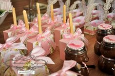 Pink teddy bear party