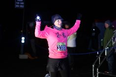 Winter Night Trail Quarter Marathon 1/16/2016. Finish Time: 1:03:51. 1st Place Age Group 1/52. Overall Women Place 5/144. Overall Men/Women Place 23/240.