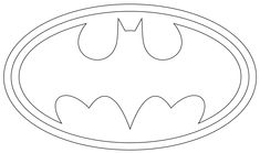 batman logo cake template - the incredibles logo printable logo you can print out