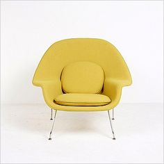 Saarinen Style: M70 Womb Chair Selling Furniture, High Quality Furniture, Mid Century Modern Furniture, Midcentury Modern, Living Room Modern, Living Rooms, Womb Chair, Scandinavian Modern, Modern Spaces