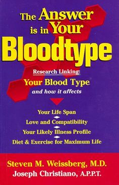 The Answer is in Your Bloodtype by Steven M. Weissberg