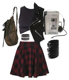 """""""Punk"""" by bleeding-neverland on Polyvore featuring Boohoo, Alexander Wang and Cara Accessories"""