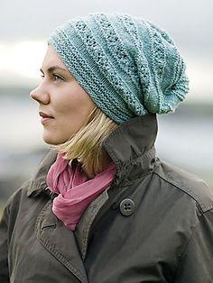 Norie Hat Knit Pattern. Tricot Chausson Adulte · Laine Tricot · Bonnet  Echarpe · Tricot Femme ... bb55bc90c79
