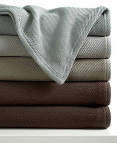 Calvin Klein Home Bedding, Doubleweave Blankets - Blankets & Throws - Bed & Bath - Macys Bed Throws, Bed & Bath, Bedding Collections, Blankets Online, Calvin Klein, Neutral, Mercury, Home, Weave