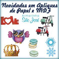 Visite nosso site e fique por dentro dos lançamentos para decoupage. www.armarinhosaojose.com.br #artesanato #decoracao #festa #artemanual #armarinho #decoupage #mdf #mdfdecorado #arteempapel #saojosearmarinho