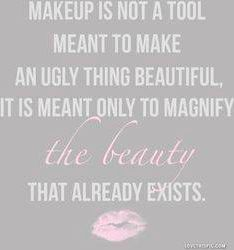 So true!! Fix your make up woman you look like an albino raccoon.