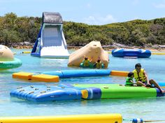 Island Beach Day - Nassau Blue Lagoon