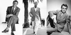 Men's style icon, Cary Grant, is an example for any aspiring gentleman!