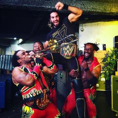 Seth Rollins and the New Day