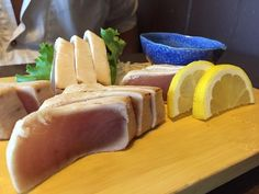 Large portion tuna tataki, Fuji Sushi,  302 114th Street, North Battleford, Saskatchewan