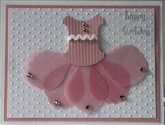 Happy Birthday Handmade Card for Girl