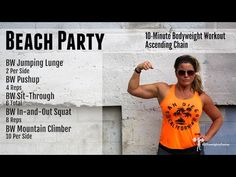LWF Challenge Workout: Beach Party - Thrive with Jen Sinkler