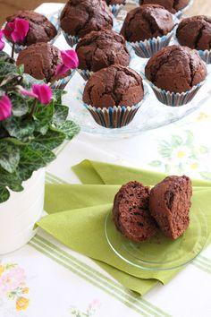 Brownie Cupcakes, Cake Cookies, Muffins, Cheesecake, Sweets, Baking, Breakfast, Desserts, Dan