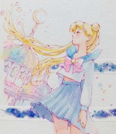 Anzysartbook: Sailor moon creencap re-draw! Guess where the original screen cap is from (I kind of g. Sailor Moon Manga, Serena Sailor Moon, Watch Sailor Moon, Arte Sailor Moon, Sailor Moon Fan Art, Sailor Jupiter, Cristal Sailor Moon, Sailor Moon Crystal, Sailor Scouts