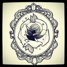 Image Result For Ornate Mirror Tattoo Design Framed Tattoo Mirror Tattoos Art Tattoo