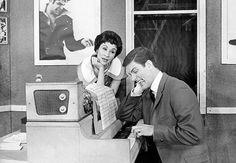 Chita Rivera and Dick Van Dyke in Bye Bye Birdie on Broadway #Broadway #Theater