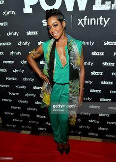 Tichina Arnold attends season 2 premiere of Power at Regal Atlantic Station on June 2015 in Atlanta, Georgia. Tichina Arnold, Celeb Style, Celebs, Celebrities, Season 2, Georgia, Atlanta, June, Celebrity