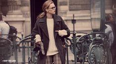 French Feminine Menswear look