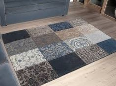 Afbeeldingsresultaat voor karpet blauw grijs