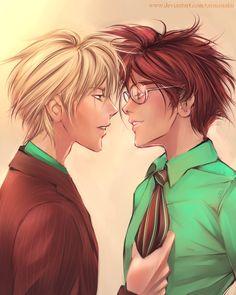 Marry me pottah Harry Potter Ships, Harry Potter Fan Art, Hogwarts, Drarry Fanart, Darry, All Is Well, Fantastic Beasts, Light In The Dark, Cute