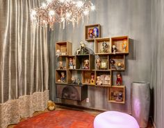 8 estantes modulares super práticas de CASA COR 2014 - Casa